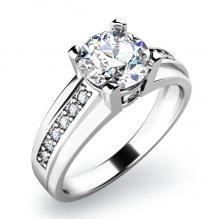 Dámský prsten s diamanty 10816D