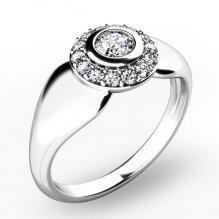 Briliantový prsten 10898-B