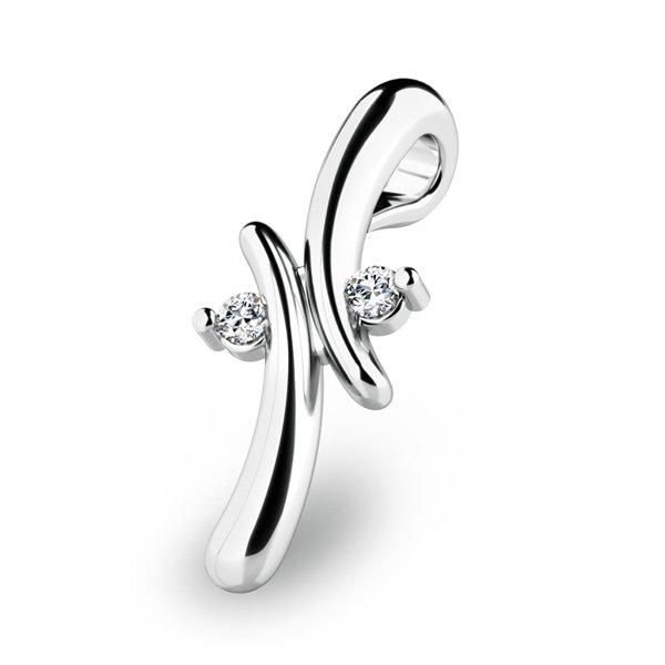 Přívěsek s diamanty 10852-B
