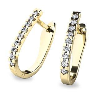 Diamantové náušnice 10862-ZL-DIA