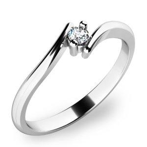 Prsten s diamantem 10846