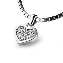 Srdce s brilianty 10881-B