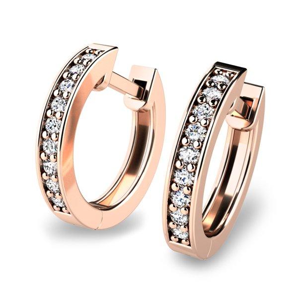 Diamantové kruhy 10836-CV