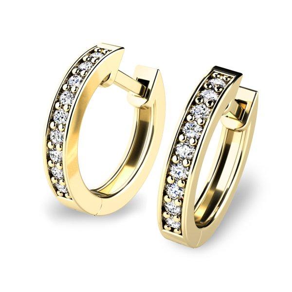 Diamantové kruhy 10836-ZL