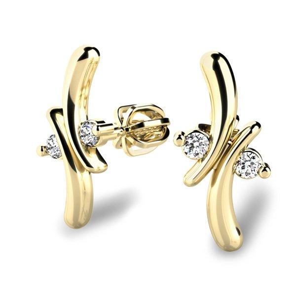 Diamantové náušnice 10851-ZL
