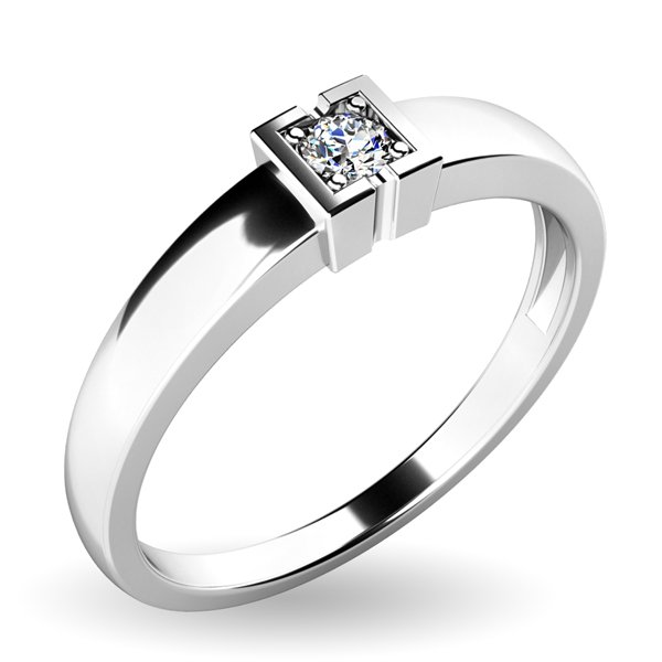 Dámský prsten s diamantem 10936D
