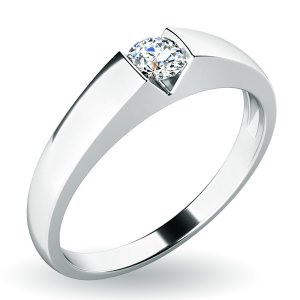 Dámský prsten s diamantem 10933D