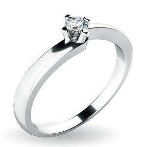 Dámský prsten s diamantem 14Da