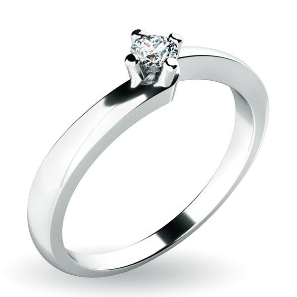 Dámský prsten s diamantem 10941D