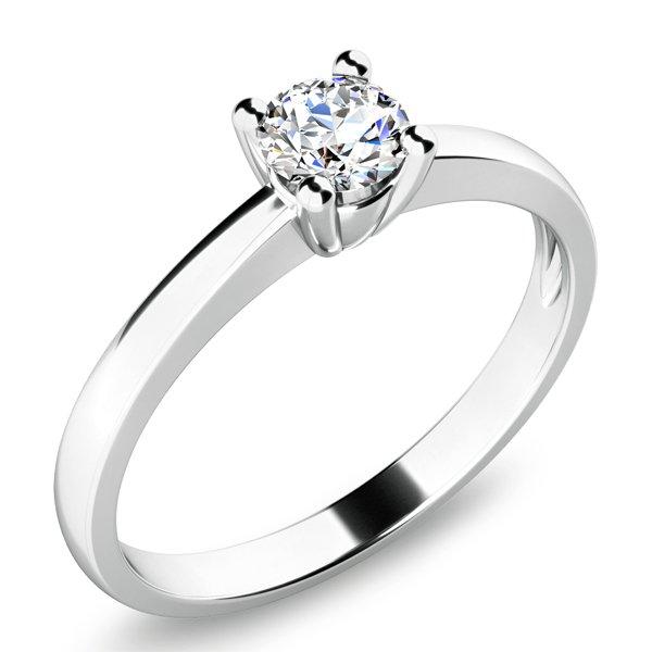 Dámský prsten s diamantem 10940D