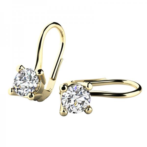 Luxusní diamantové náušnice 10827-450-ZL