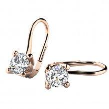 Luxusní diamantové náušnice 10827-450-CV