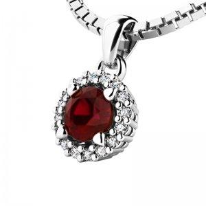 Luxusní přívěsek s diamanty 10927-B-GRA