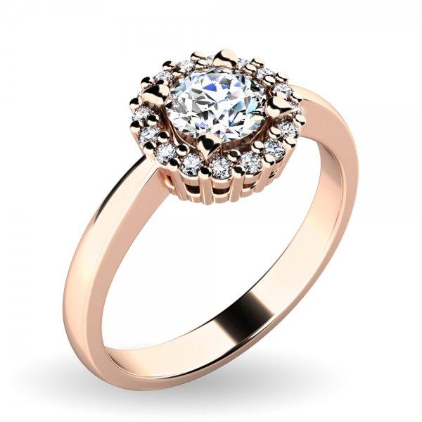 Dámský prsten s brilianty 10924-CV