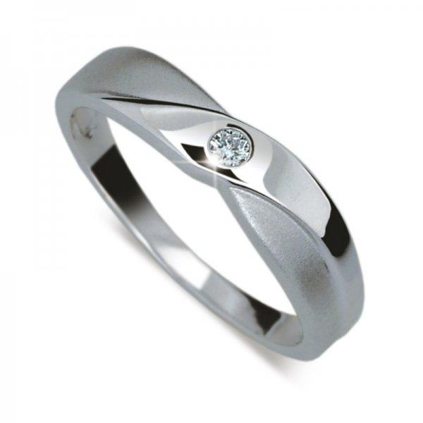 Dámský prsten s diamantem DF1760