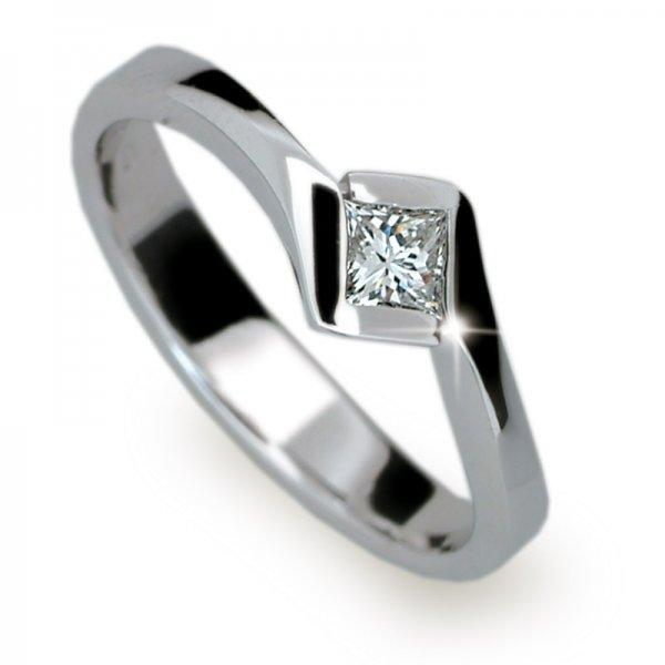 Dámský prsten s diamantem DF1977