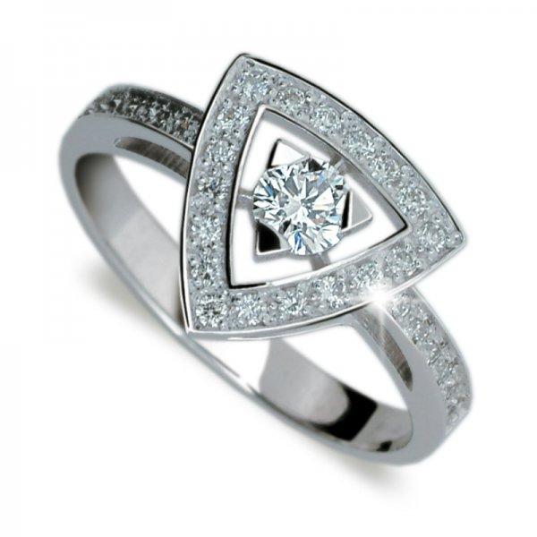 Dámský prsten s diamanty DF1970