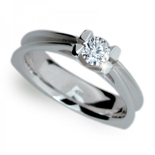 Dámský prsten s diamantem DF1992