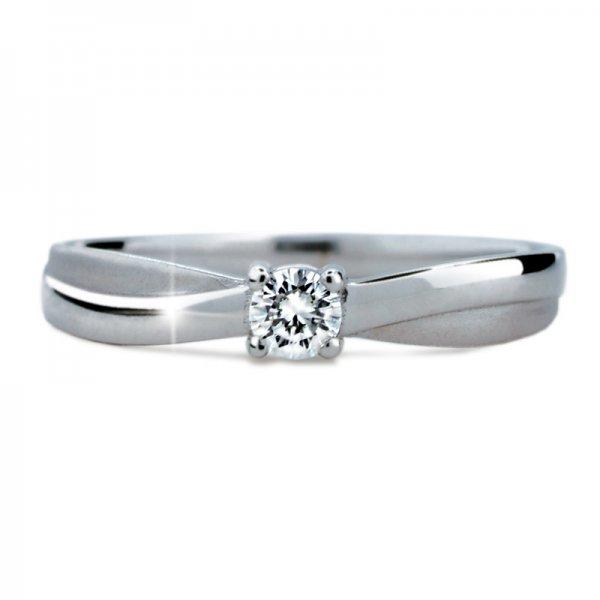 Dámský prsten s diamantem DF1906
