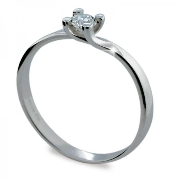 Dámský prsten s diamantem DF1855