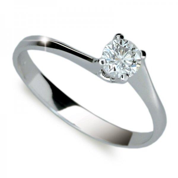 Dámský prsten s diamantem DF1957
