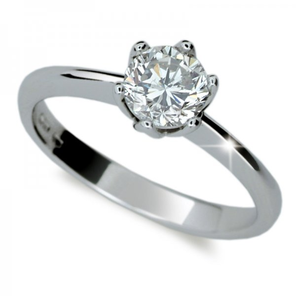Dámský prsten s diamantem DF1959