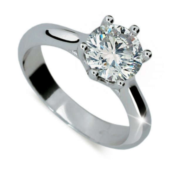 Dámský prsten s diamantem DF1885