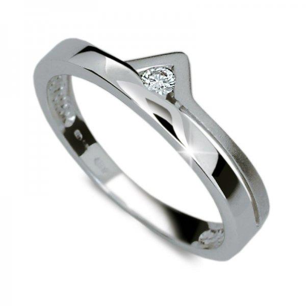 Dámský prsten s diamantem DF1565